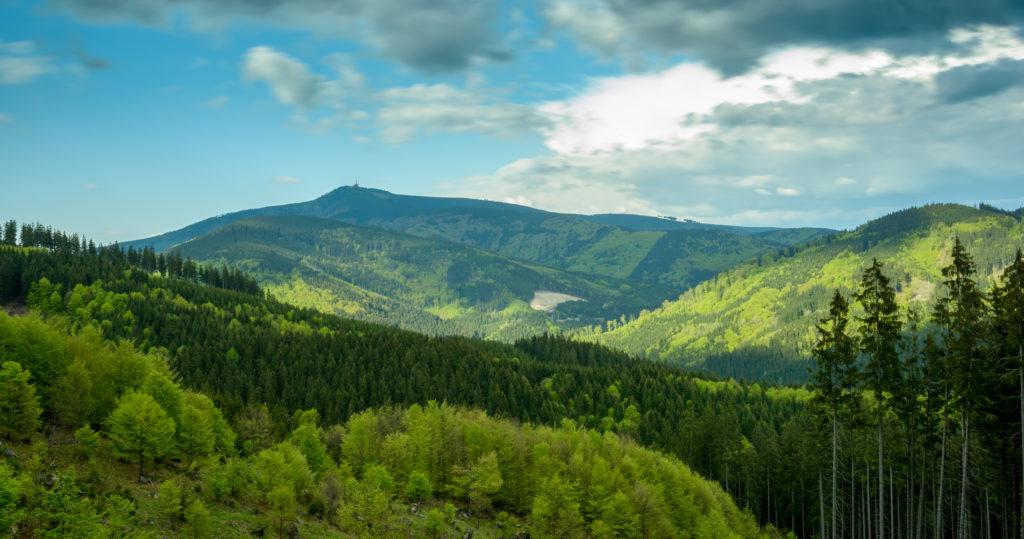 Czech mountains Beskydy